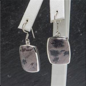 Jewelry - Unique rectangular Cabochon Jasper Earrings 🎁🎁